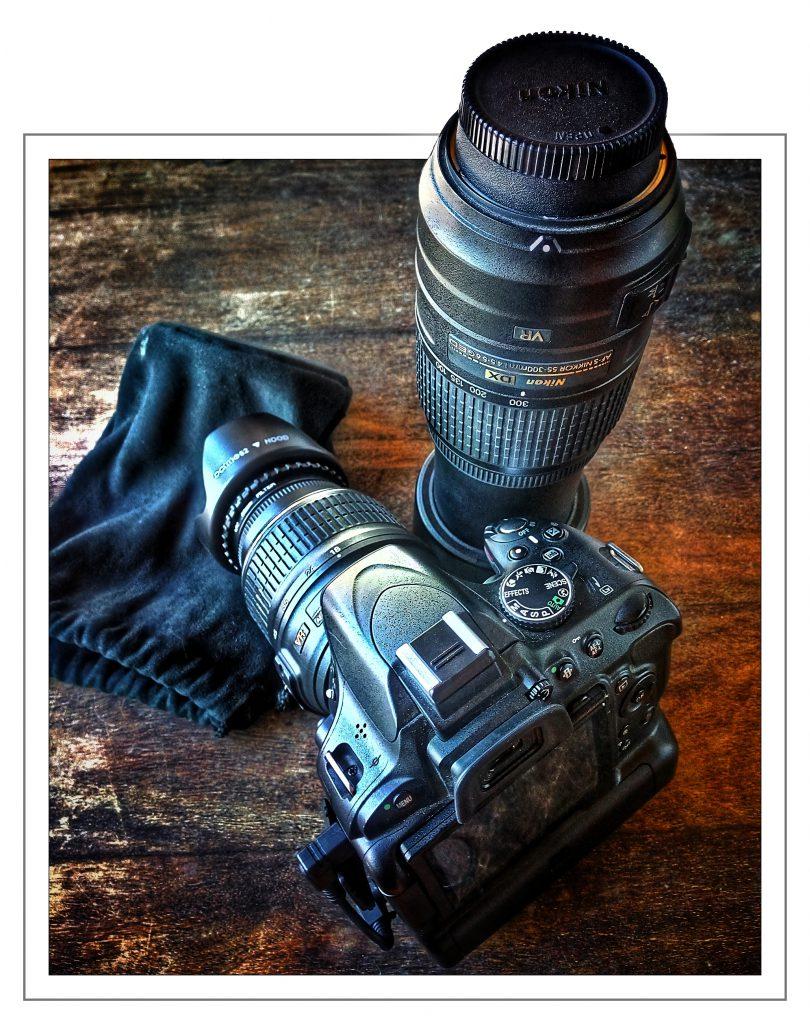 Nikon D5100, Nikkor 55-300, Nikkor 18-55