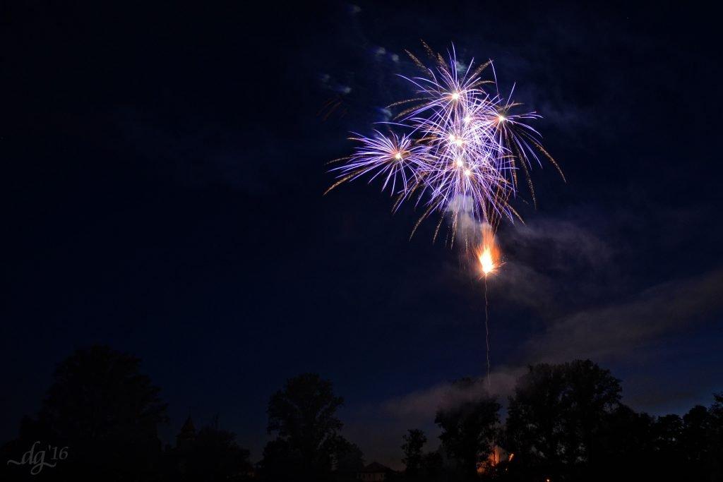Feuerwerk Lichtenau
