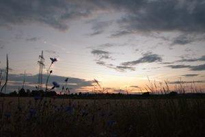 Sonnenuntergang Sommersdorf/Burgoberbach