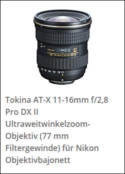tokina 11-16 DX II